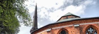 Sjunger i Västerås Domkyrka